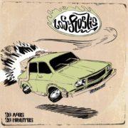 Portada de el nuevo disco de Los Roslis, 20 años, 20 minutos