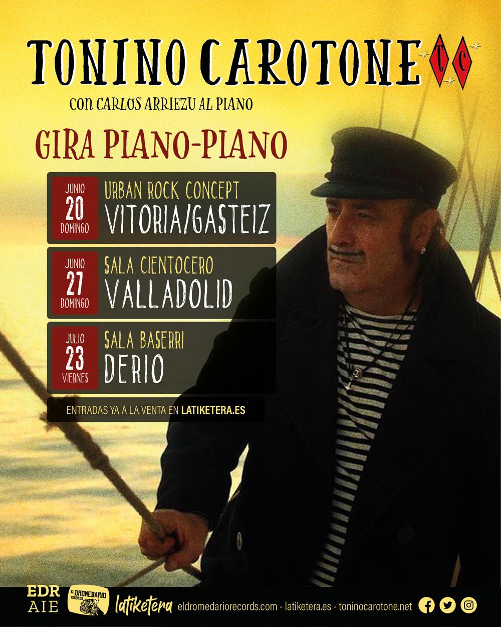 Tonino Carotone Cira piano, piano